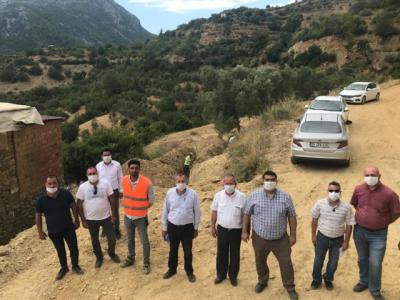 Gazipaşa Karasu Projesi tam gaz 30 yıllık içme suyu sorunu tarih oluyor