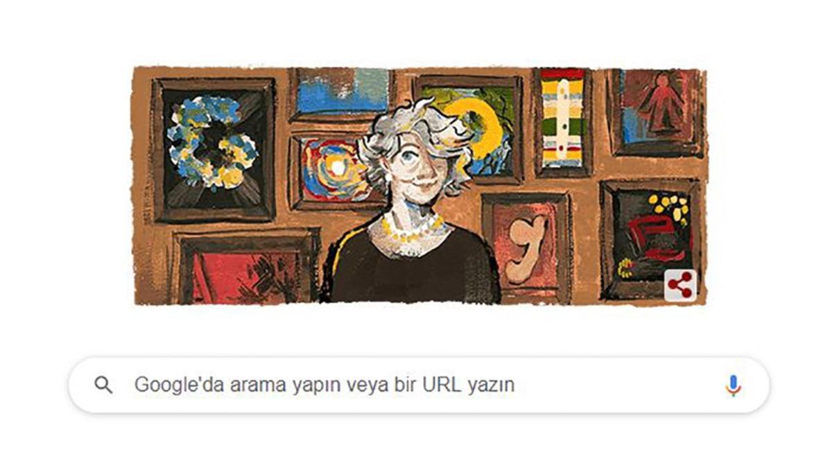 Google'dan Aliye Berger için özel anma