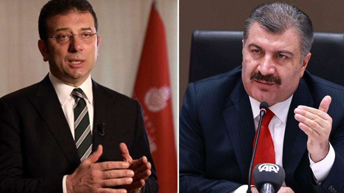 İmamoğlu, İstanbul'daki korona toplantısına neden davet edilmedi? Bakan Koca, ilk kez konuştu