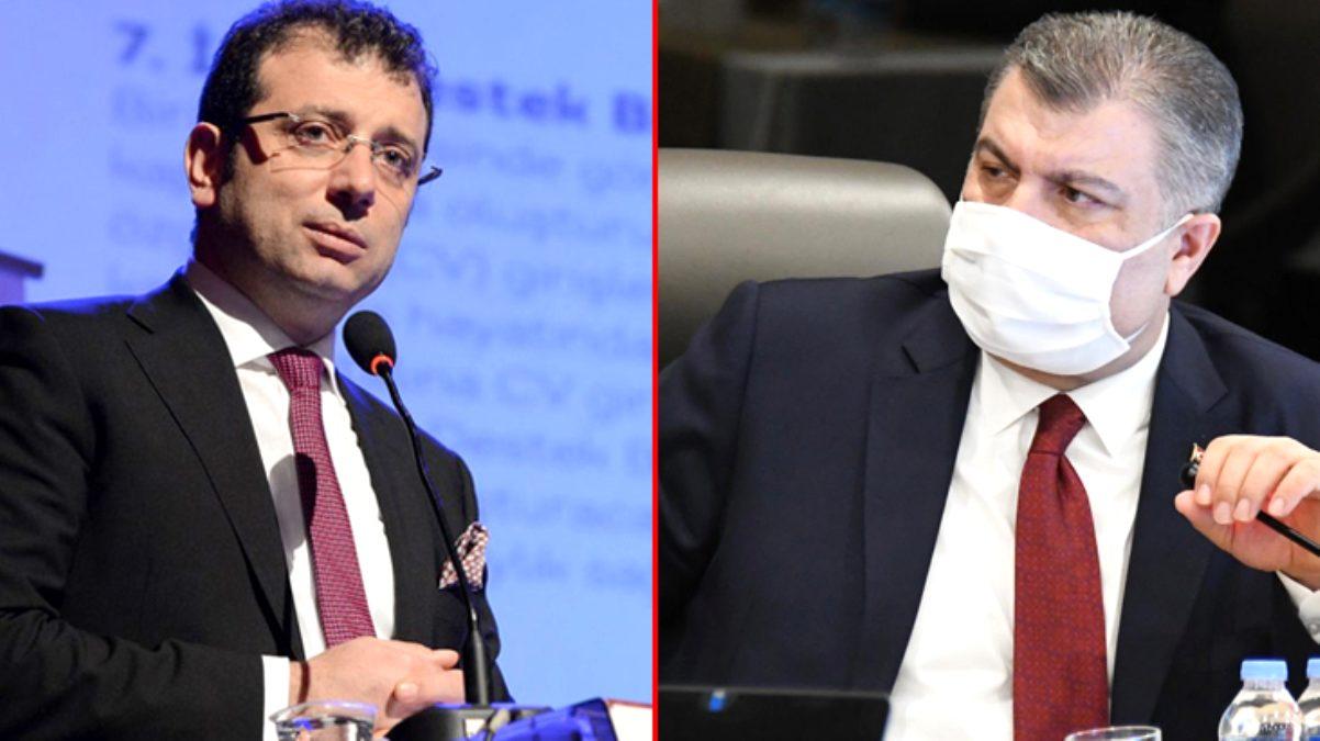 İmamoğlu, İstanbul için düzenlenen koronavirüs toplantısını Bakan Koca'nın paylaşımından öğrendi