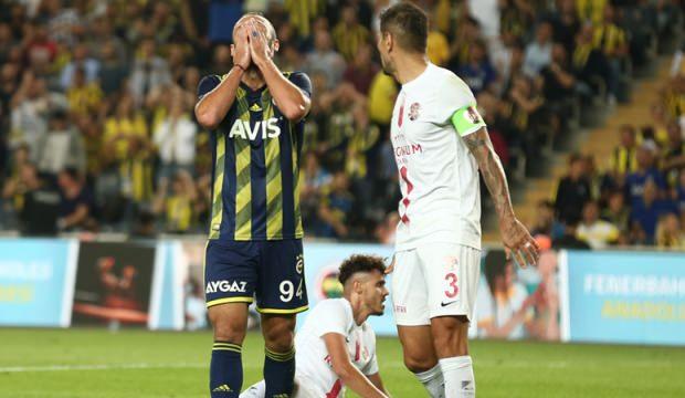 Kadıköy'de Fenerbahçe'ye soğuk duş!
