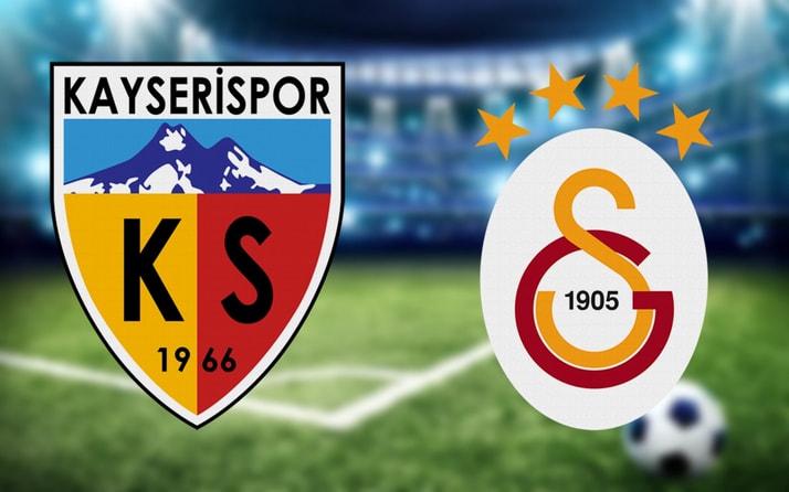 Kayserispor Galatasaray maçı hangi kanalda saat kaçta? (Muhtemel 11'ler)