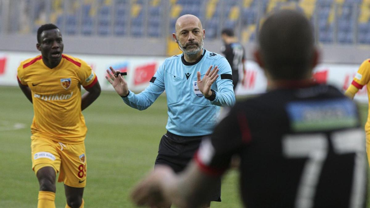 Maç sonucu: Gençlerbirliği 3-2 Kayserispor