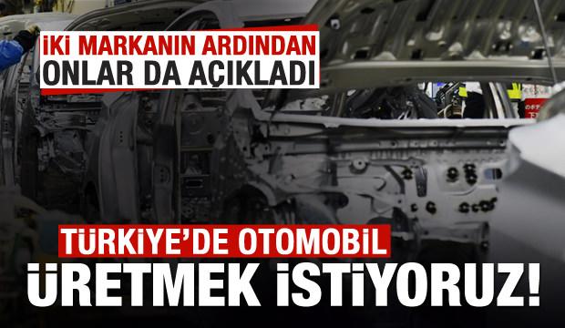 Malezya da Türkiye'de otomobil üretmek istiyor