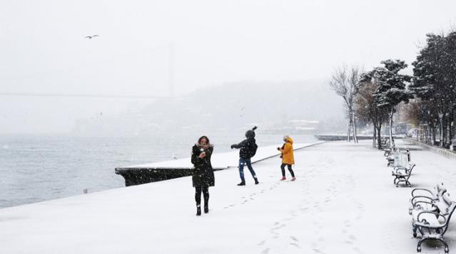 Meteoroloji'den 28 Ocak'ta İstanbul için kar uyarısı