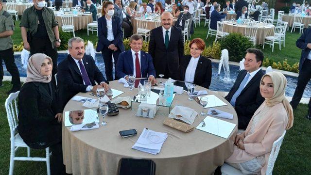 MHP'den ihraç edilen Erhan Usta'nın kızının nikah töreninde 4 genel başkan bir araya geldi
