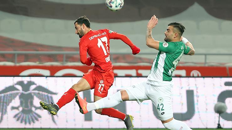 ÖZET | Konyaspor - Sivasspor maç sonucu: 0 - 1