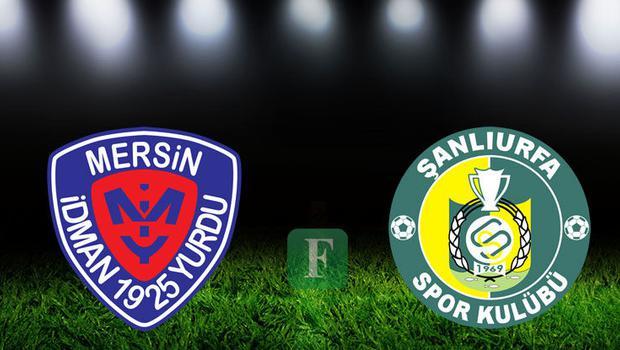 (ÖZET) Mersin İdmanyurdu - Şanlıurfaspor maç sonucu: 3-2