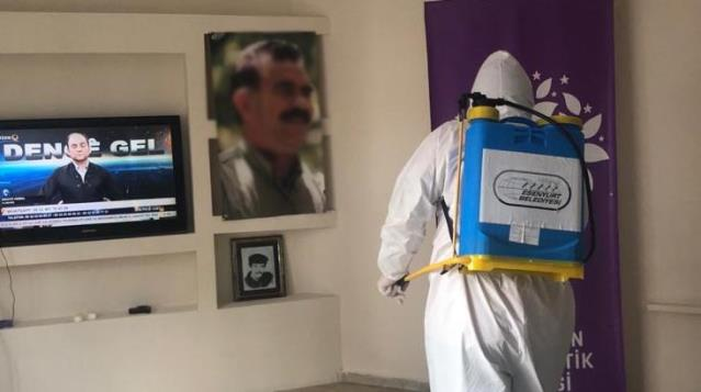 Parti binasını terör yuvasına çeviren HDP Esenyurt ilçe eş başkanları gözaltına alındı