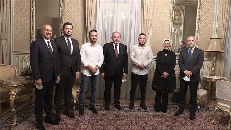 Şentop, Viyana'da Türk toplumu temsilcilerini kabul etti