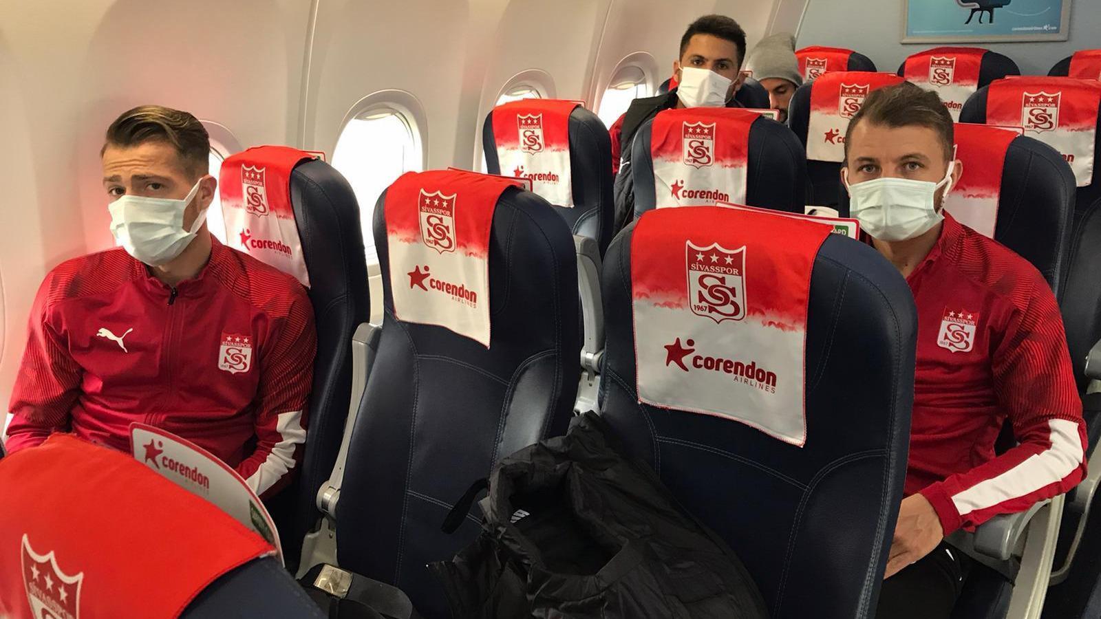 Sivasspor, Konya'ya geldi
