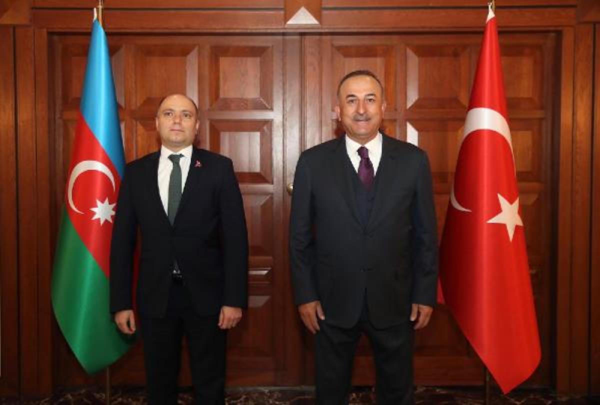Son dakika: Dışişleri Bakanı Çavuşoğlu, Azerbaycan Kültür Bakanı Kerimov'la görüştü