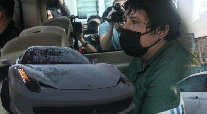 'Tosuncuk' drift yaptığı lüks aracının akıbetini anlattı…