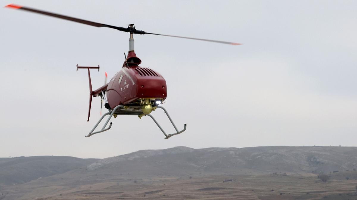 Türkiye'den insansız helikopter adımı! Seri üretime geçecek