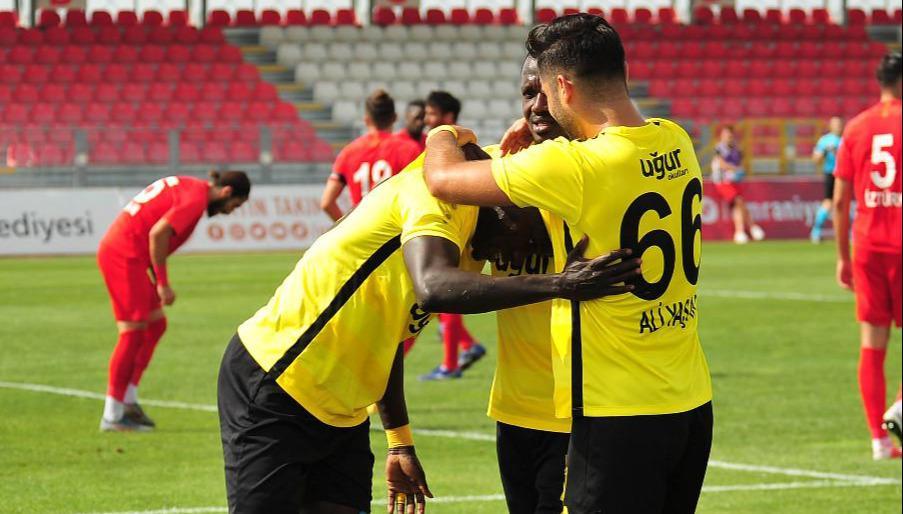 Ümraniyespor - İstanbulspor maç sonucu: 1-3