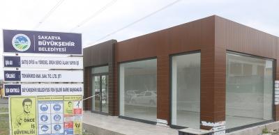 Ürün merkezi ve sergi alanında çalışmalar sürüyor