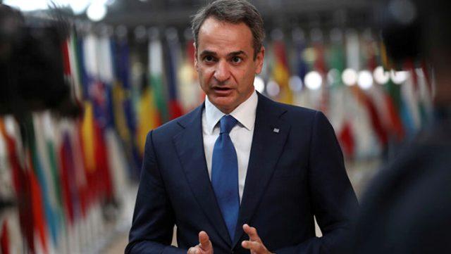 Yunanistan Başbakanı Miçotakis, Doğu Akdeniz gerginliğiyle ilgili konuştu: Türkiye ile diplomasiye bir şans verelim
