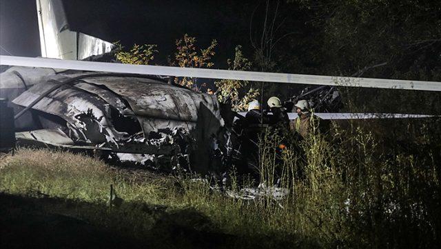 Ukrayna'da 26 kişinin öldüğü askeri uçak kazasında karakutuya ulaşıldı