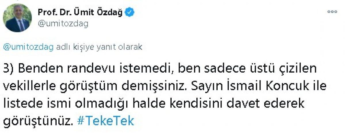 Ümit Özdağ dan Meral Akşener e: 4 gerçek dışı açıklama #3