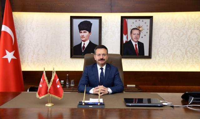 Vali Aksoy'dan aşı açıklaması